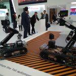Роботехника на выставке